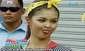 screengrab from Eat Bulaga TV show